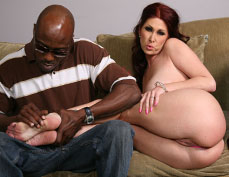Tiffany Mynx gets her tight asshole drilled by a black Guy from Blacks on Blondes