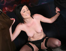 Veruca James gets her asshole banged while her cuckold watches from Cuckold Sessions